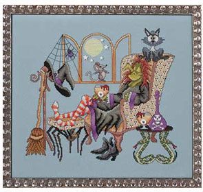 Come Sit A Spell Cross-Stitch Pattern/annies