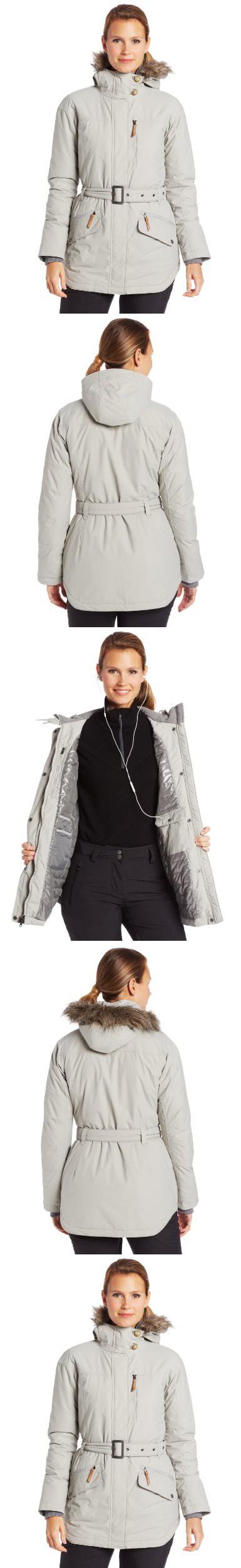 5e868b4834d Columbia Women's Carson Pass II Jacket, Flint Grey, Large   Down ...