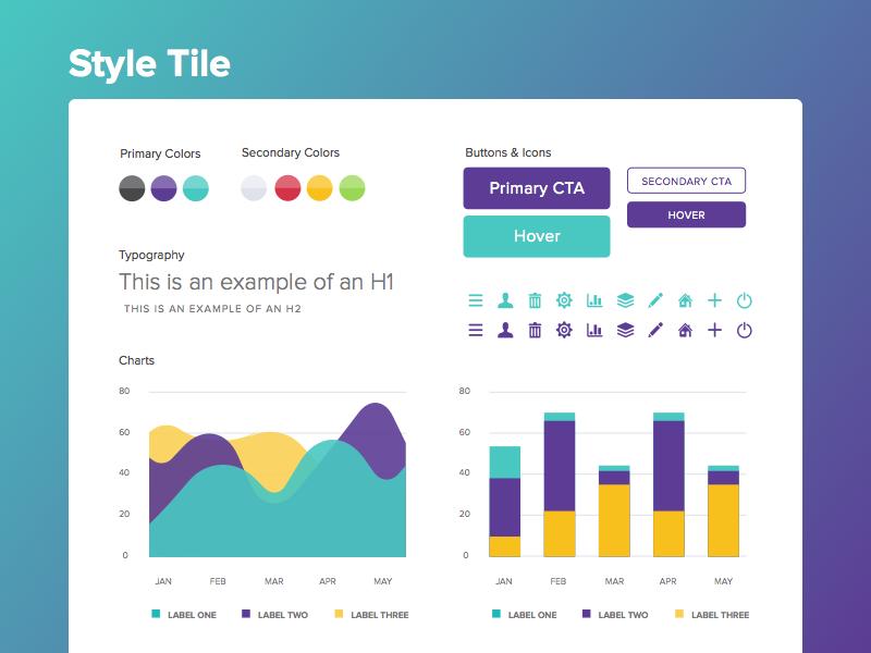 Style Tile | Ui ux