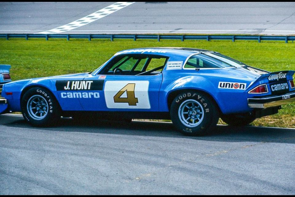 James Hunts 75 Iroc Camaro Camaro Chevy Camaro Z28 Chevrolet Camaro