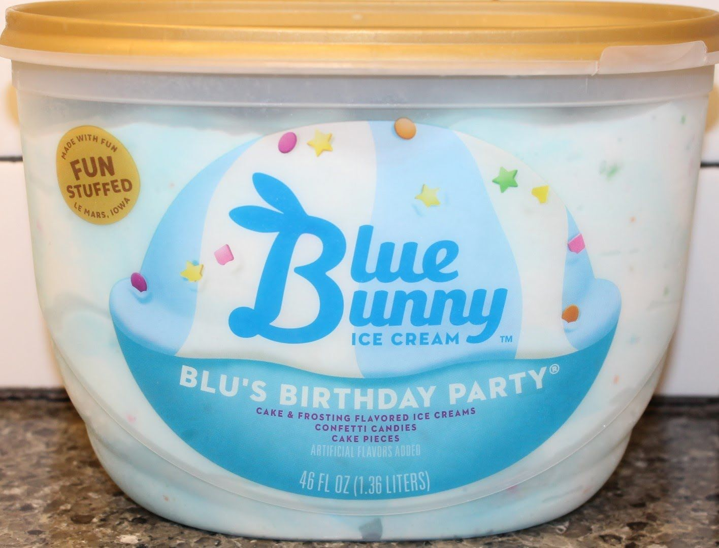 Blue Bunny Ice Cream Blus Birthday Party Review Youtube Friends