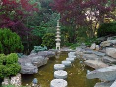 zen garden design with shinto gate Google Search Zen Garden