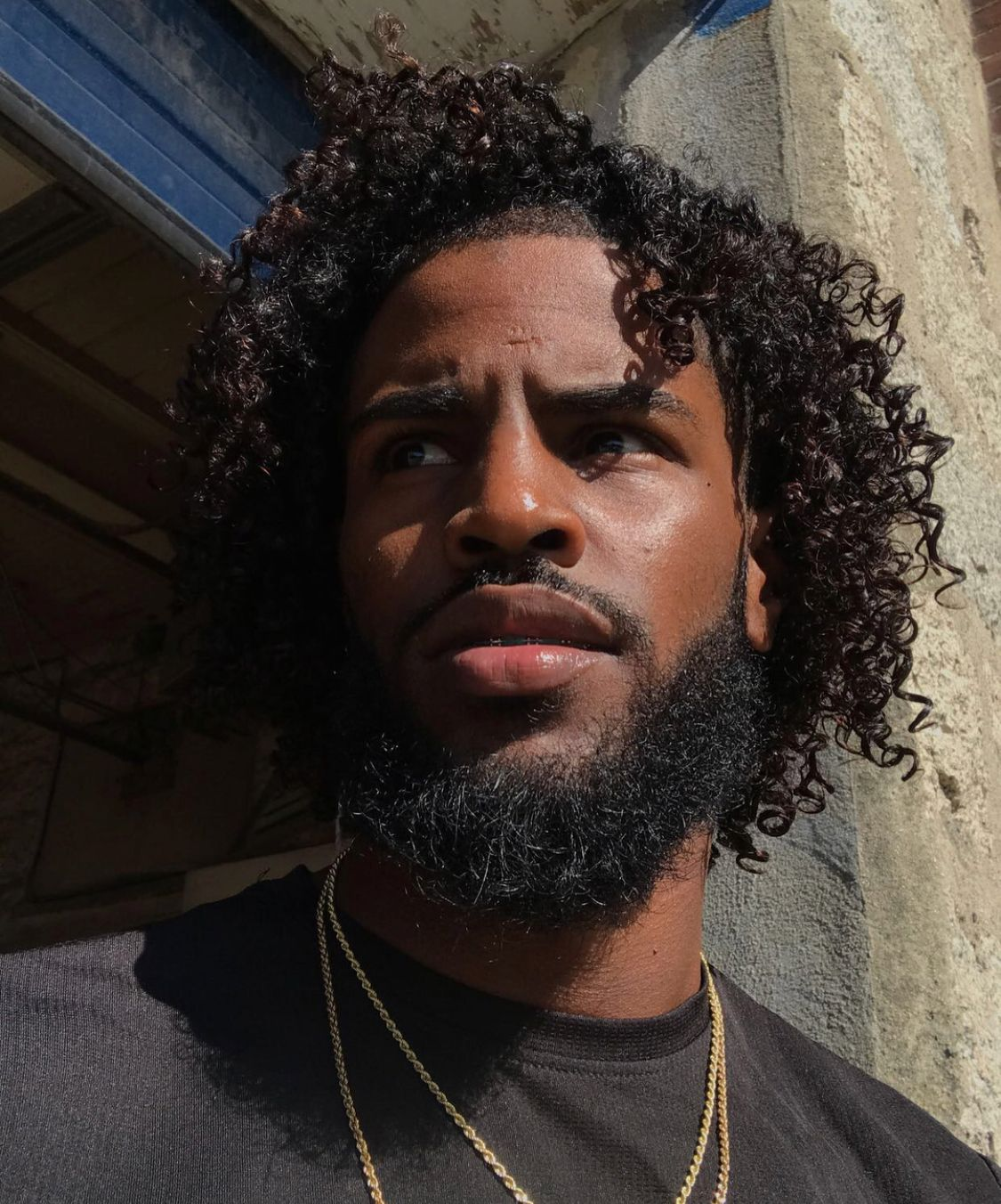 Pin By Tianna Barnett On Avec Moi With Images Curly Hair Men