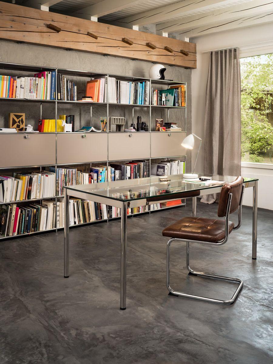 micasa arbeitszimmer mit regal und pult aus dem programm flexcube individuell zusammenstellbar. Black Bedroom Furniture Sets. Home Design Ideas
