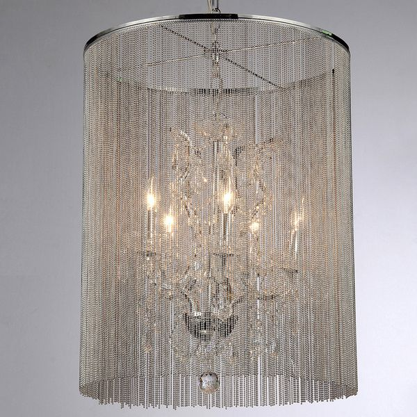 Rosalias Modern Cage Chandelier - Overstock™ Shopping - Great Deals ...