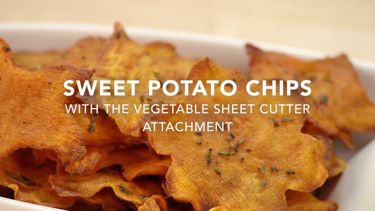 Kitchenaid vegetable sheet cutter sweet potato chips