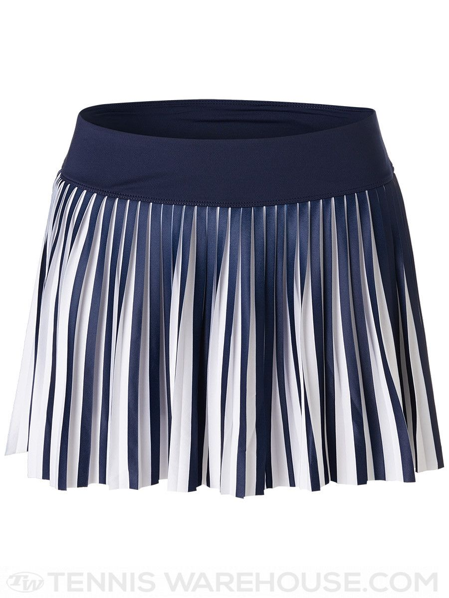 Fila Women S Fall Heritage Pleated Skirt Navy White Tennis Skirt Tennis Clothes Womens Fall