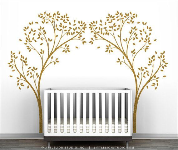 Gold Tree Canopy Portal Wall Decal Diy Projects To Try In