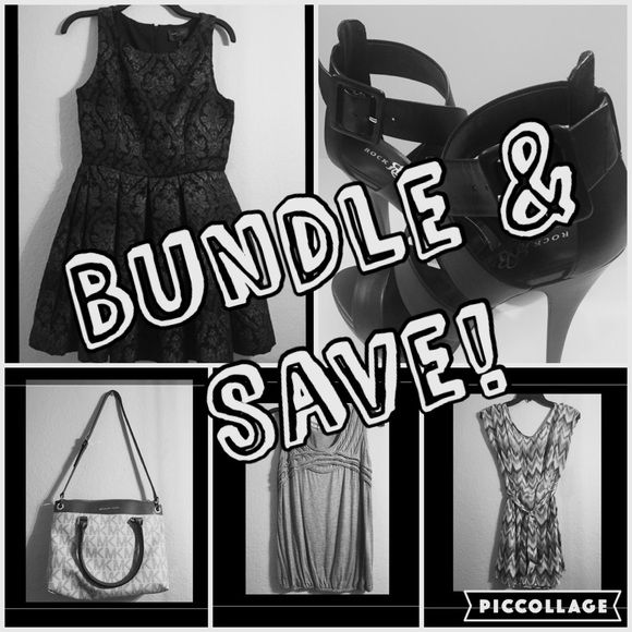 Don't forget to Bundle & Save! Items from my closet are either new or pre-loved needing a new home. I try to add items weekly & will consider fair offers! :) Other