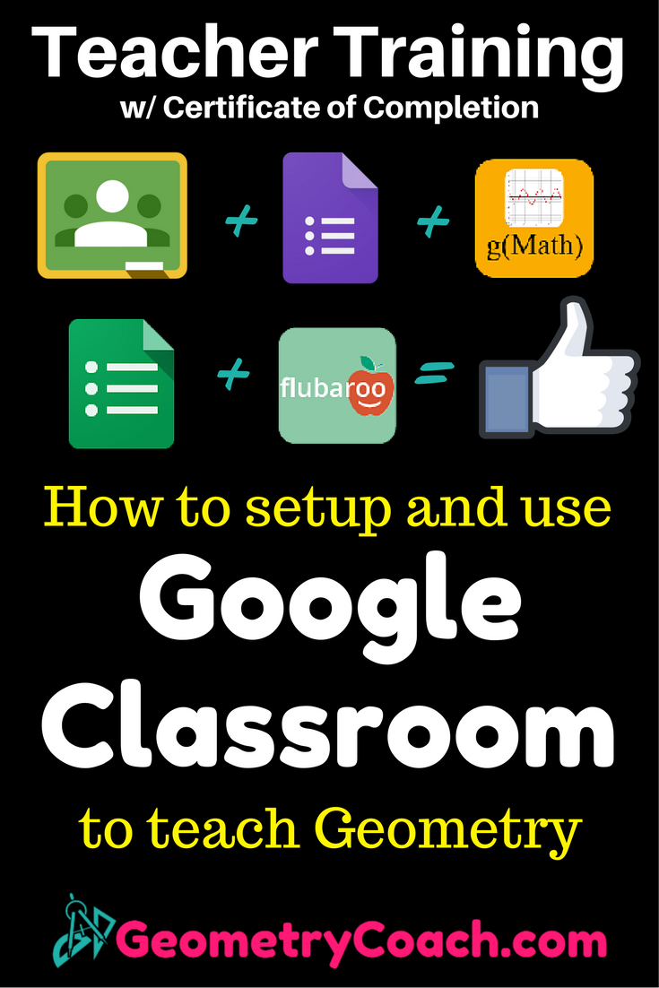 How to setup and use google classroom teach geometry google this is a good starting place to get your tech based classroom going 1betcityfo Image collections