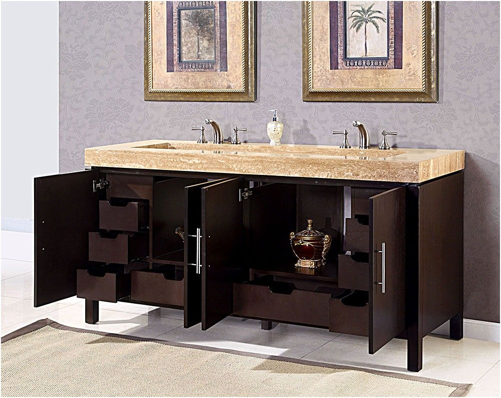 Ranger Modern Double Ramp Sink Bathroom Vanity Double From - 72 inch modern bathroom vanity