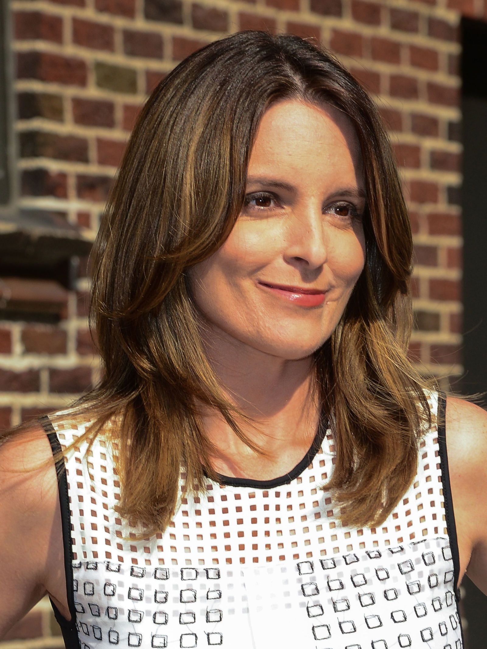 The 10 Easiest Hairstyles Of All Time Tina Fey Easy Hairstyles