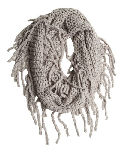 Fringe Eternity Scarf from Wet Seal | Fashionista ...