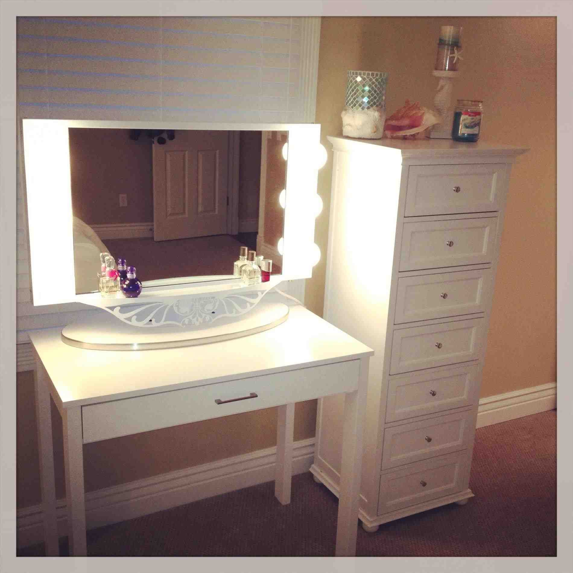 This mirrored vanity table with drawers full size of bedroom