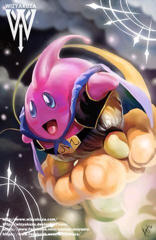 Majin Kirby - Visit now for 3D Dragon Ball Z compression shirts now on sale! #dragonball #dbz #dragonballsuper