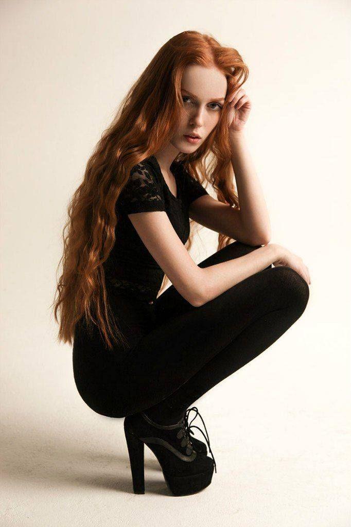 Gingers 365  Stunning Redhead, Ginger Models, Ginger Hair-3979