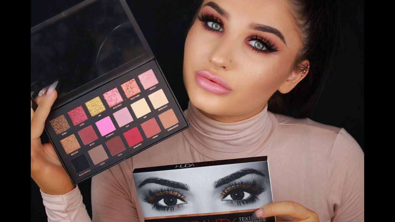 Huda Beauty Rose Gold Palette Tutorial / Lifeofablueberry