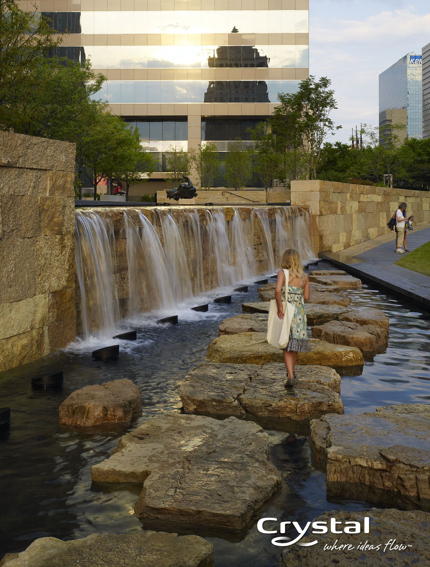 Citygarden - St. Louis, MO  Photo by Hydro Dramatics