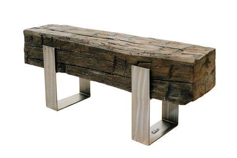 Concrete Beam Bench