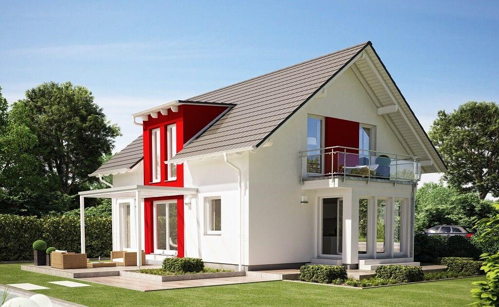 Evolution 154 V4 - Bien Zenker - http\/\/wwwhausbaudirektde\/haus - landhaus modern