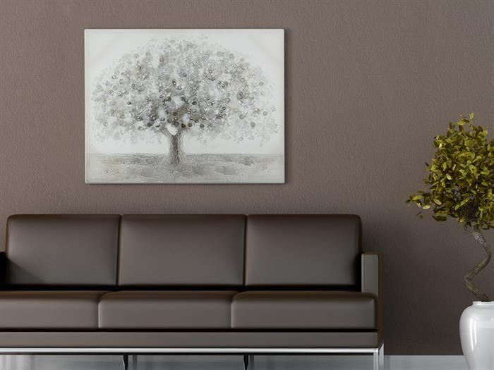 Casablanca - BIG TREE - 3D Ölbild - Wanddeko Wohnzimmer Wanddeko