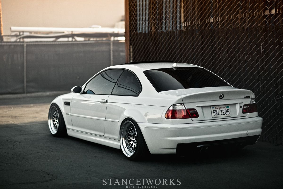 M3 On Ccw Classics So Awesome Stance Works Carros Y