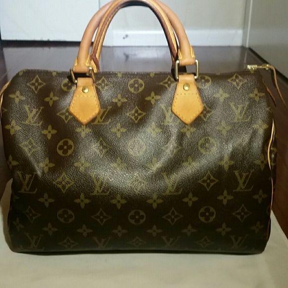 Sold Authentic Lv Speedy 30 Lv Speedy 30 Lv Speedy Louis
