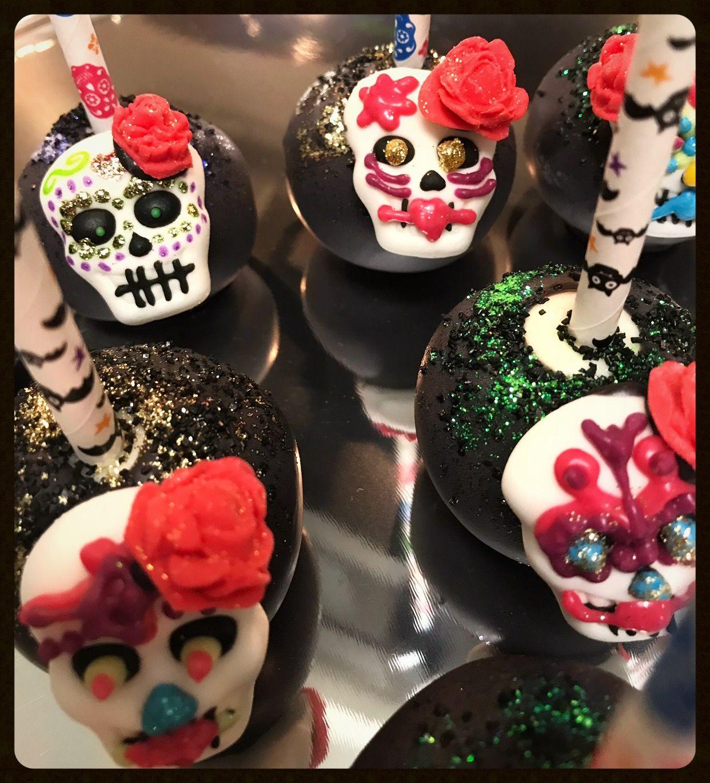 Key West Wedding Ideas: Sugar Skull Cake Pops By DHW Pops & Treats In Key West, FL
