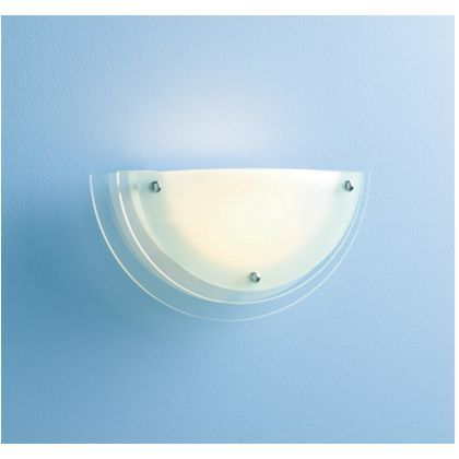 Reno Wall Light Frosted Clear Gl