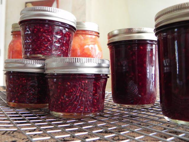Raspberry Jalapeño Jam - Sweet and Spicy - Feeding Big