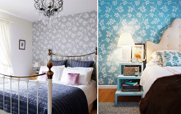 The One On The Left Mainly, But Also The Headboard On The Right.