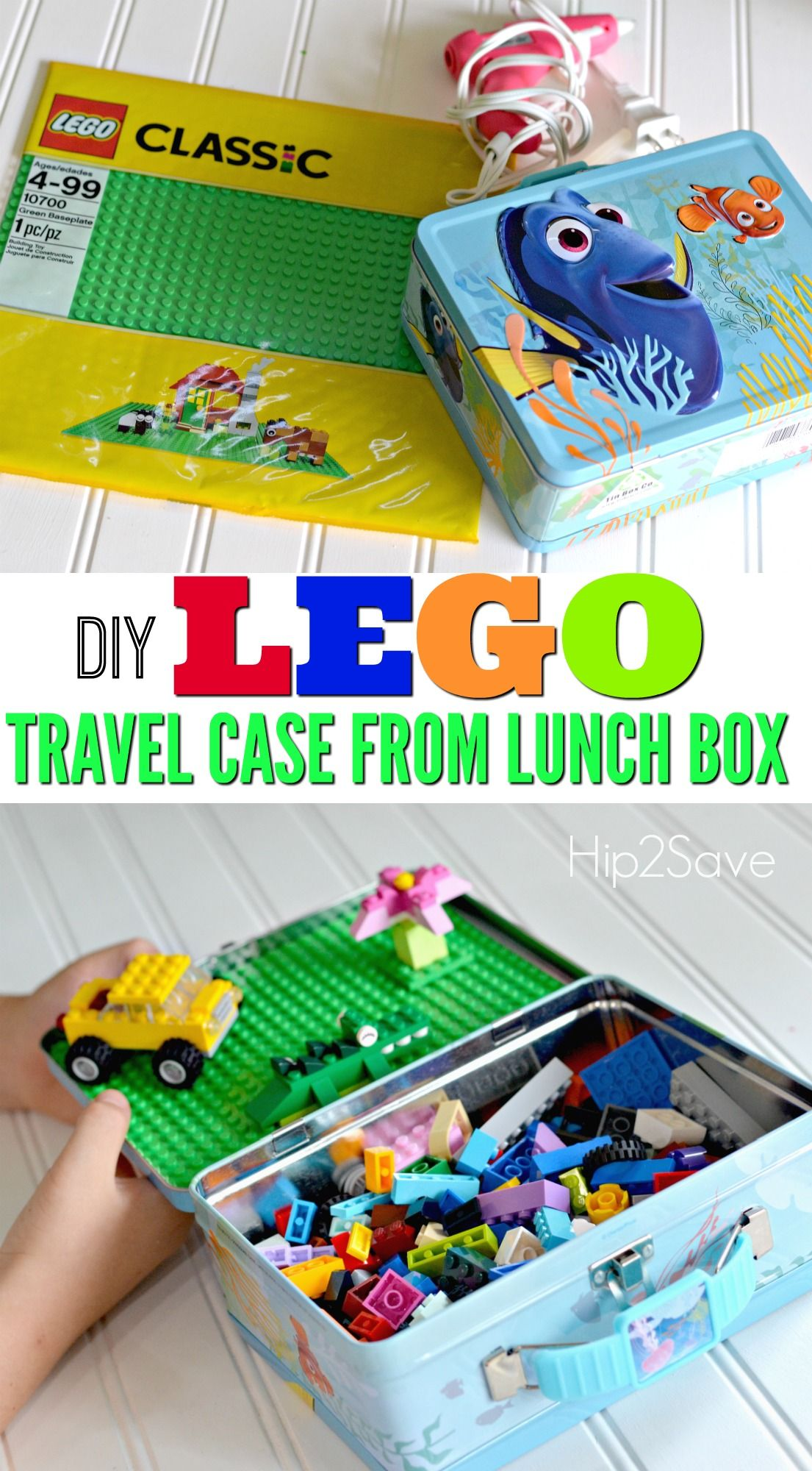 Diy Lego Travel Case Made From Lunch Box Toddler Travel