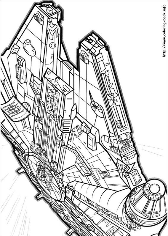 Star Wars The Force Awakens Coloring Picture Star Wars Coloring Pages Coloring Pictures