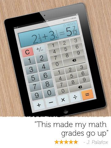 Fraction Calculator Plus Free by Digitalchemy, LLC | Apps for