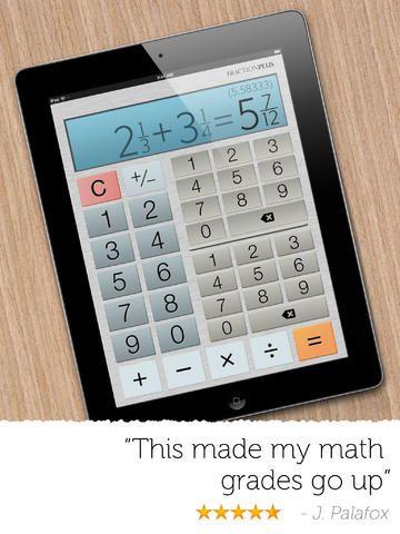 Fraction Calculator Plus Free By Digitalchemy Llc Fractions Calculator App