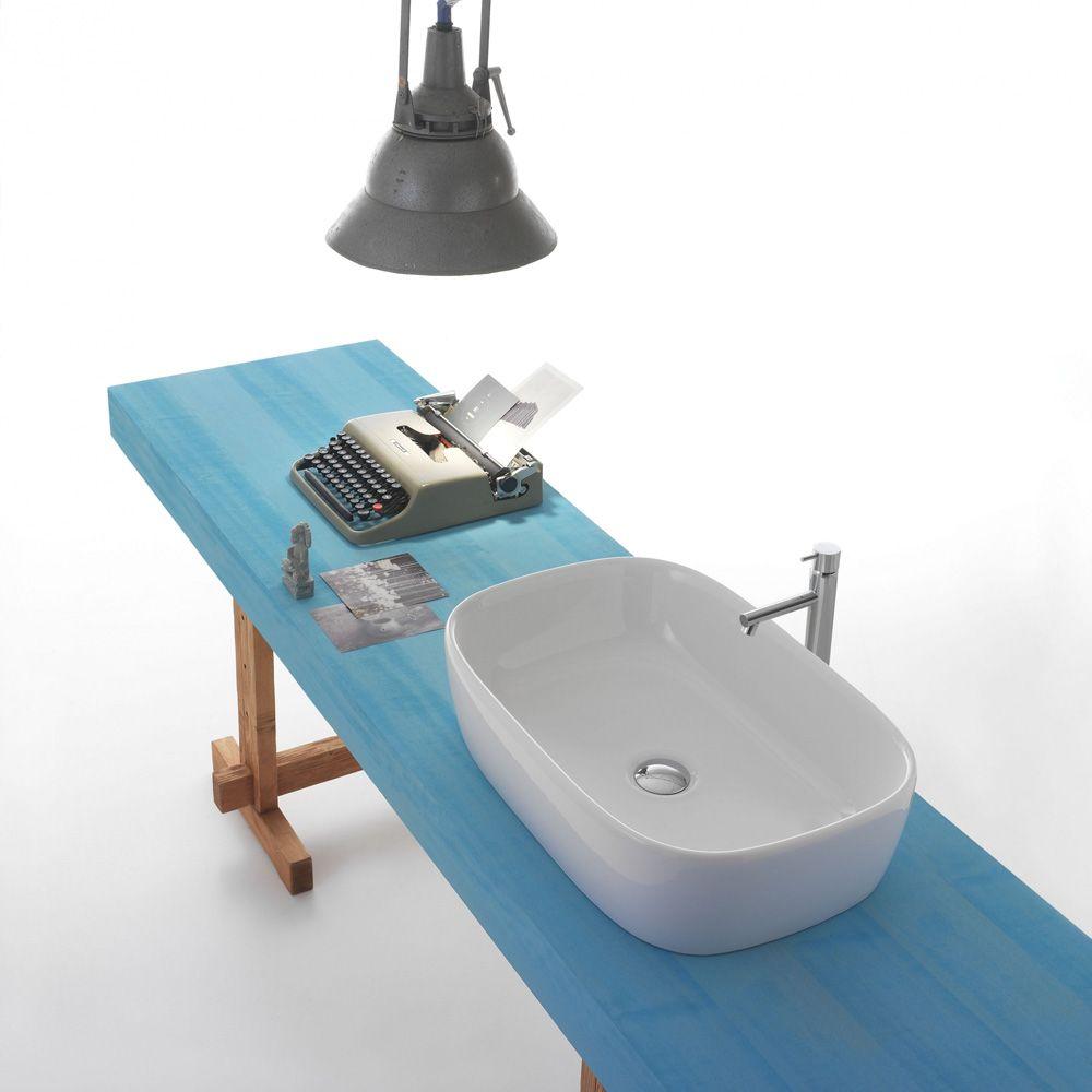Globo Waschbecken lavabo genesis a 60 x 40 x 15 200 300 ceramica globo waschbecken