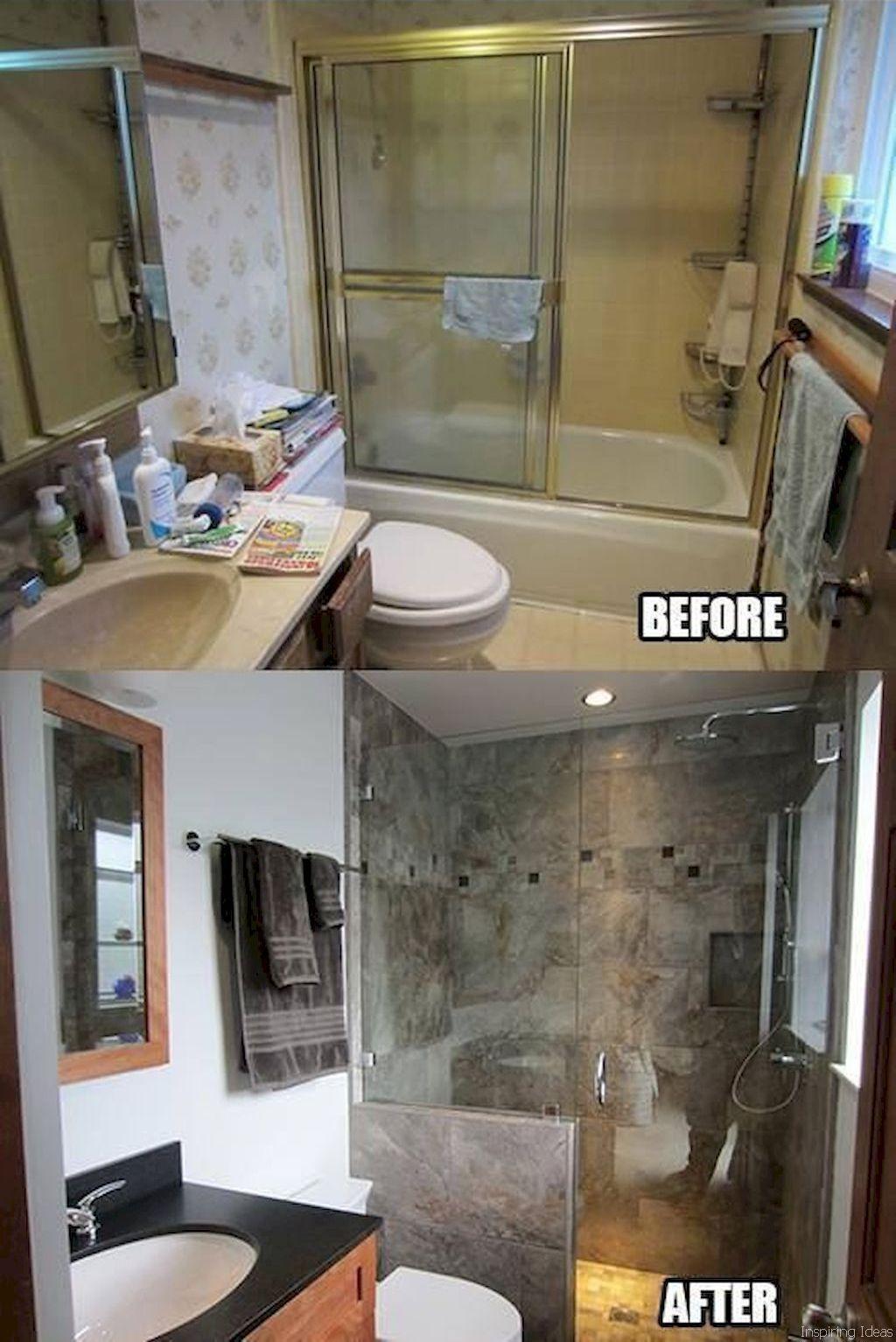 60 Beautiful Bathroom Remodel Ideas Augustexture Com Restroom Remodel Bathrooms Remodel Small Bathroom Remodel