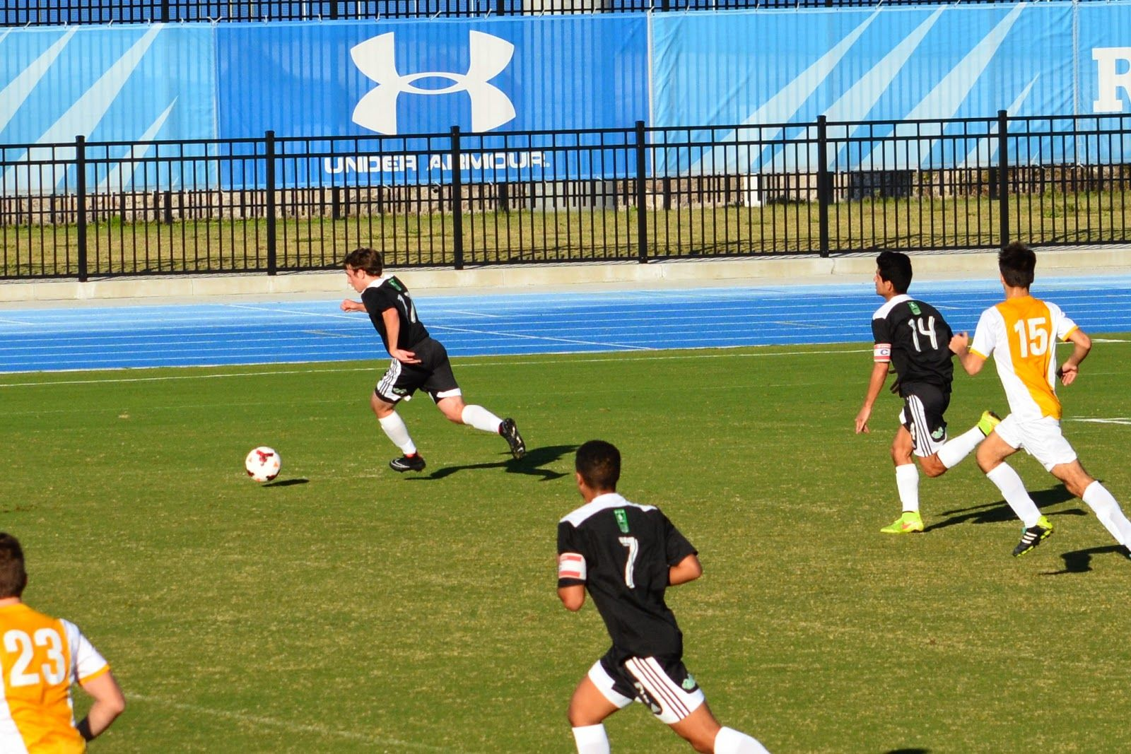 VA Alliance (Team America 96, Black) competing in USL