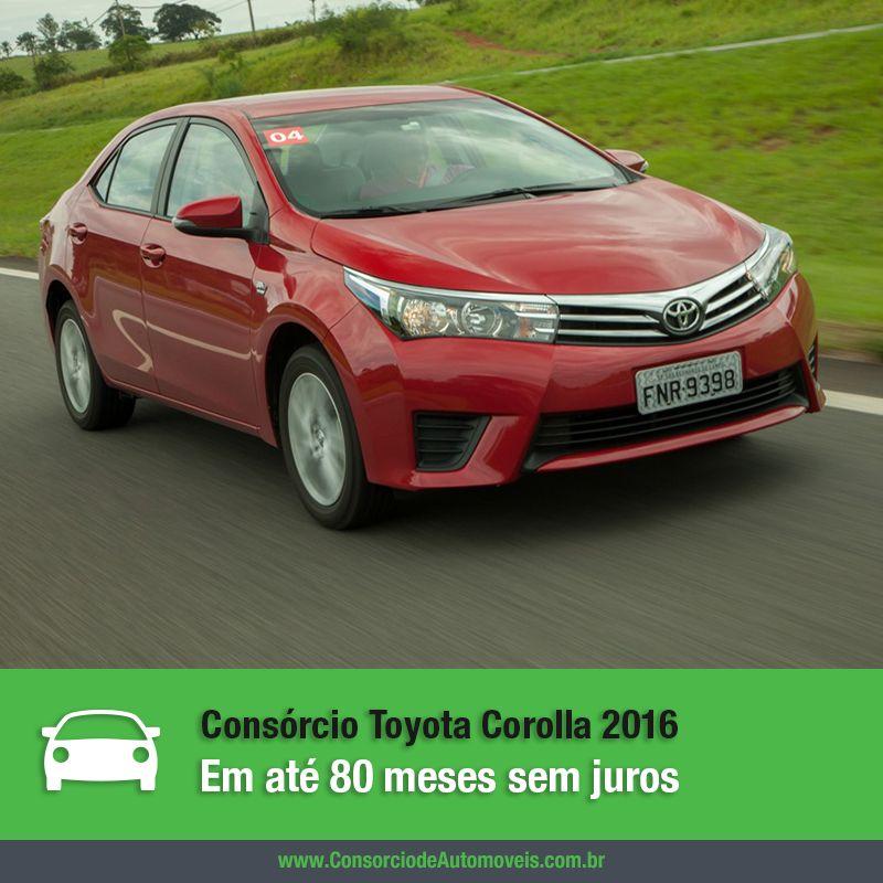 Por meio do consórcio você pode programar a compra de um dos carros mais vendido no mundo, o Toyota Corolla: https://www.consorciodeautomoveis.com.br/noticias/compre-um-toyota-corolla-pelo-consorcio?idcampanha=206&utm_source=Pinterest&utm_medium=Perfil&utm_campaign=redessociais