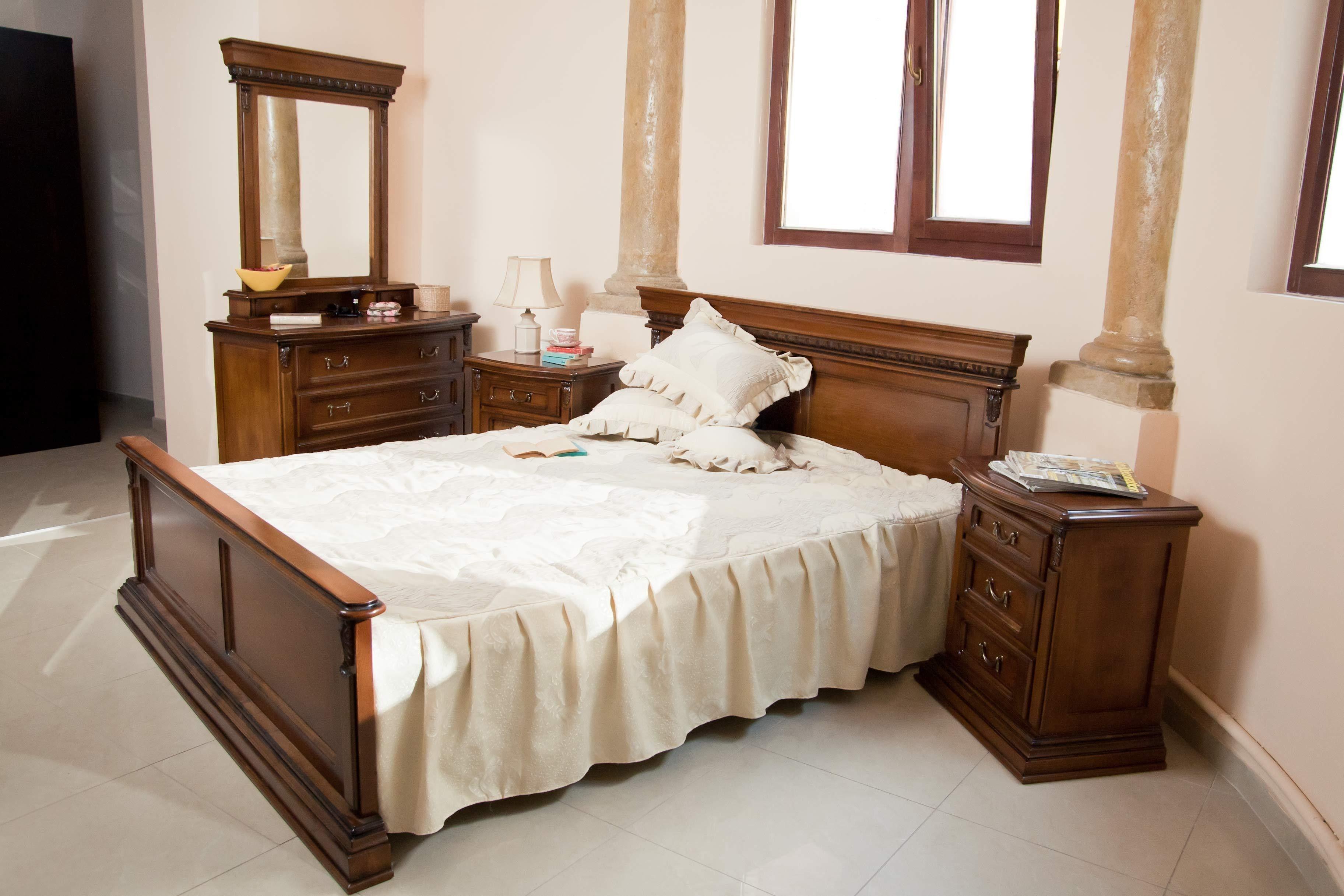 pat si noptiere- Mobila Dormitor Dominus II | Mobila dormitor ...