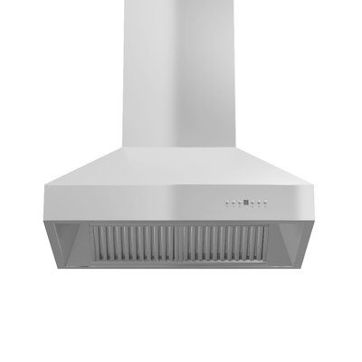 Zline Kitchen And Bath 36 1200 Cfm Ducted Island Range Hood Island Range Hood Stainless Steel Range Hood Kitchen Bath