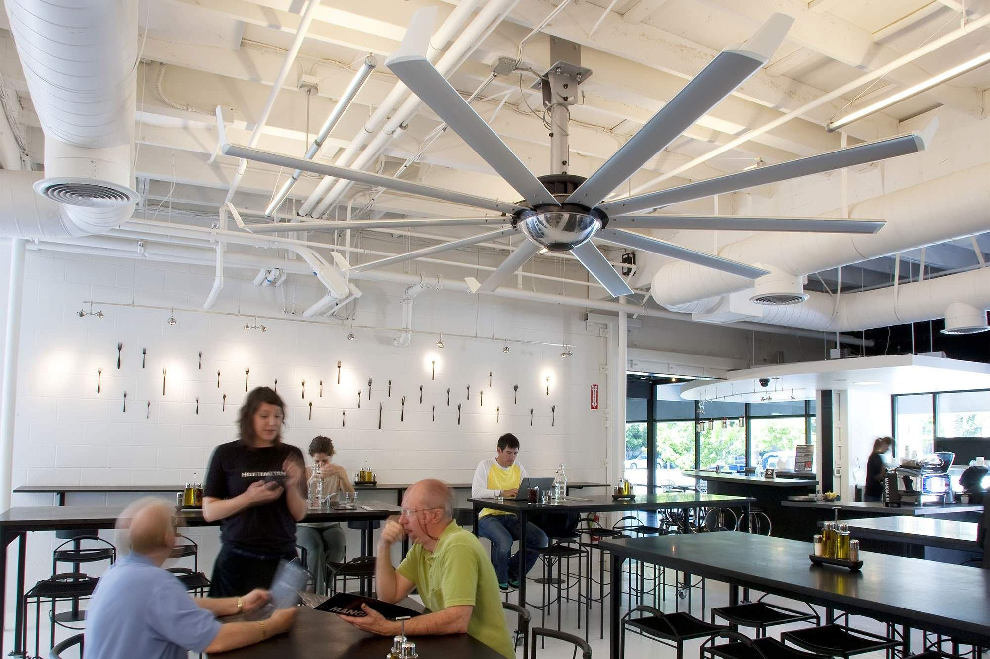 Efficient Ceiling Fans In Leed