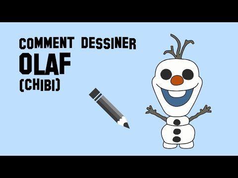 Comment dessiner olaf chibi youtube dessin - Dessiner olaf ...