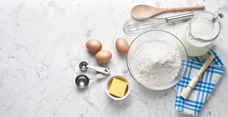 White Marble Baking Cooking Banner Background Various Food Ingredients And Cook Aff Banner Background Food Cooking Cooking White Marble Homemade