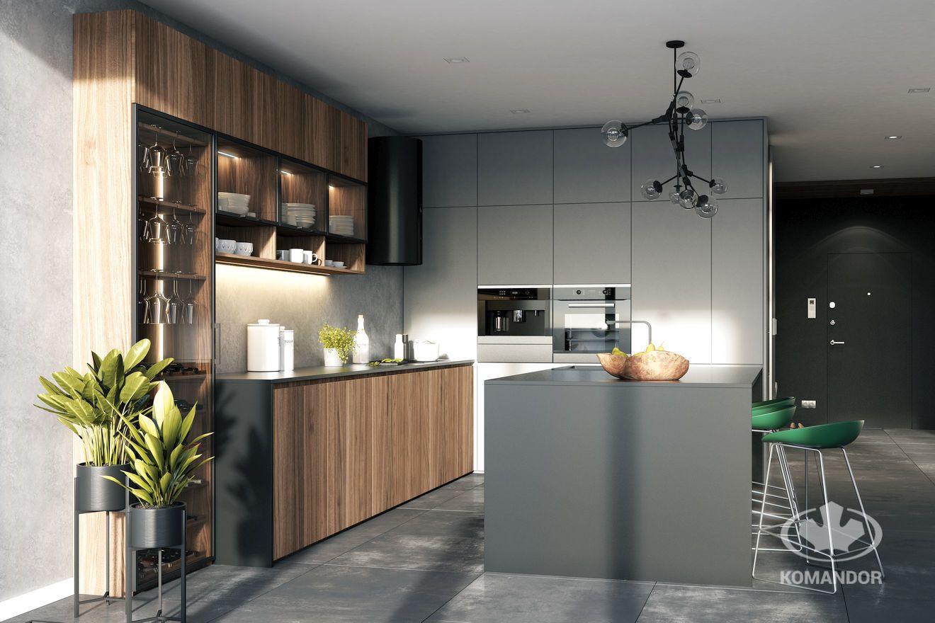 Kuchnia Polaczona Z Salonem I Przedpokojem Otwieramy Przestrzen Kitchen Decor Kitchen Cabinets Kitchen Cleaning Hacks