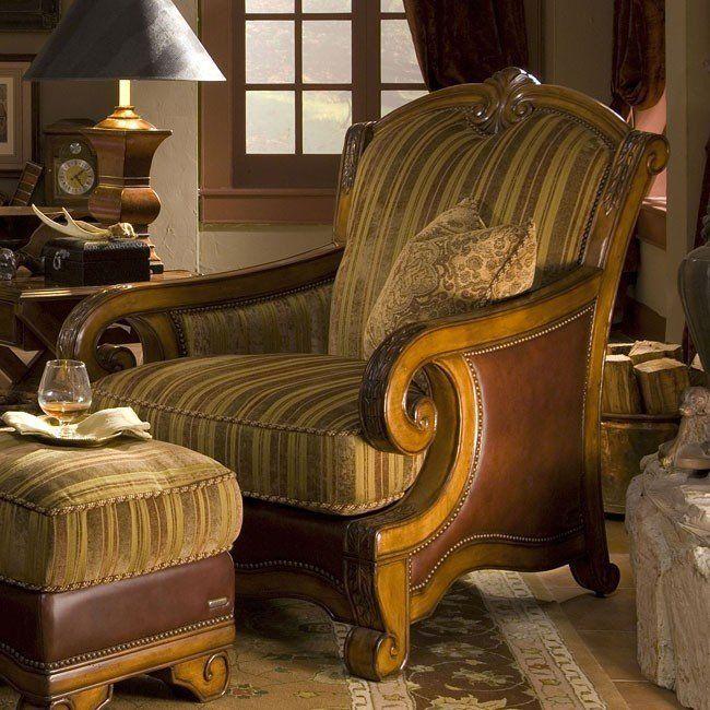 Tuscano Wood Trim Chair Olive Tuscan Design Sitting Room Decor Wood Trim