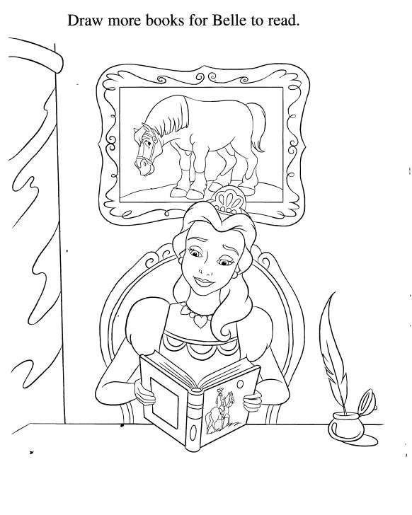 belle colouring sheets | Disney Princesas | Princesas, Moldes y Colores