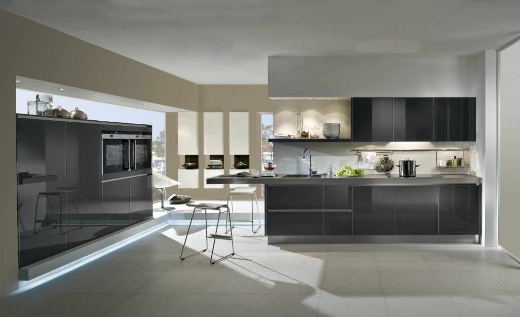 Häcker Classic\/Art Stratos Carbon metallic en wit hooglans lak - häcker küchen forum
