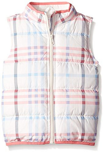 Gymboree Girls Printed Puffer Vest