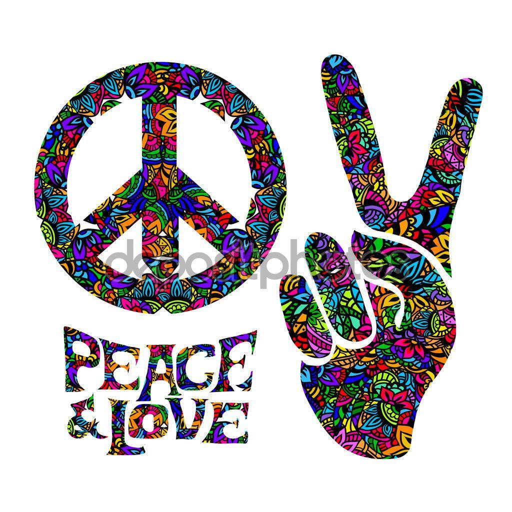 Resultado De Imagem Para Amor E Paz Simbolo Signo De La Paz Simbolo De Paz Paz Hippie